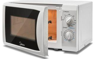 Микроволновые печи midea: как выбрать, модели, отзывы