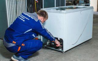 Ремонт промышленных холодильников в москве