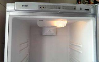 Холодильник бош: ошибки, причины, решения