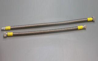 Шланги для газовой колонки: выбор и подключение