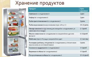 Правильное хранение продуктов в холодильнике: сроки, зоны